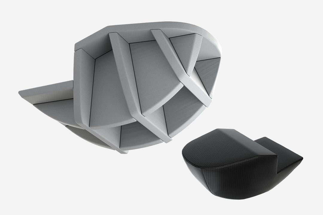 Moderner Air-Foam Hybrid-Protektor