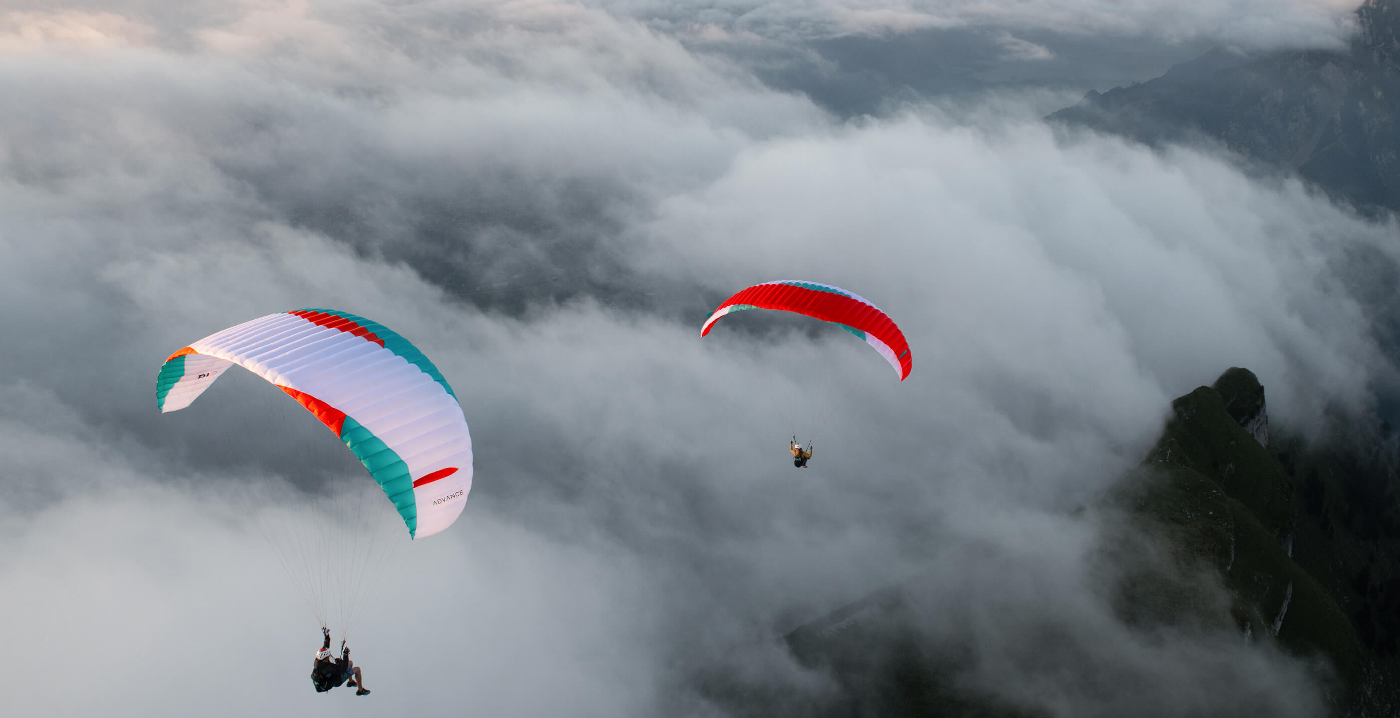 Advance Pi3 hike and fly paraglider